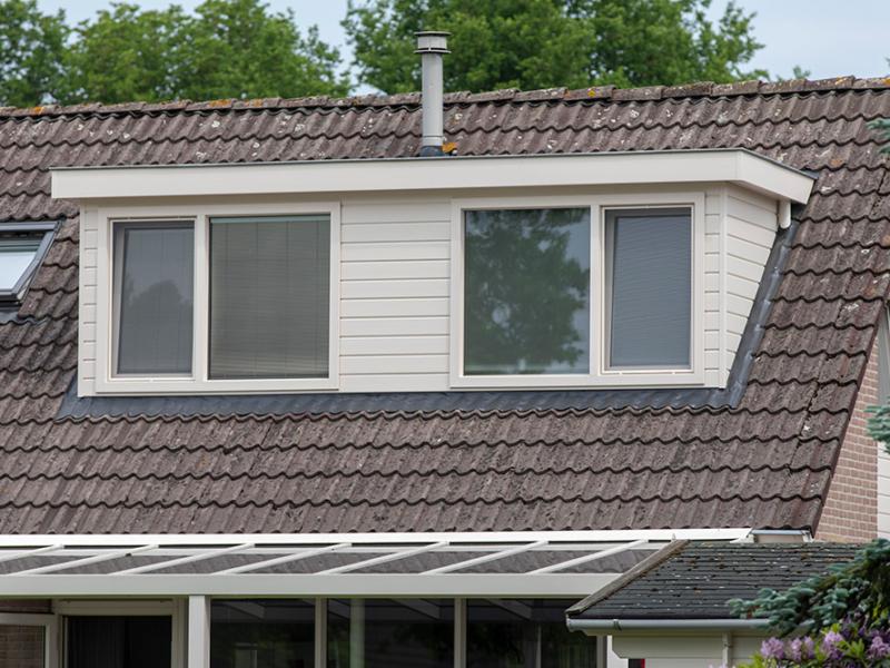 Kunststof dakkapel Veendam