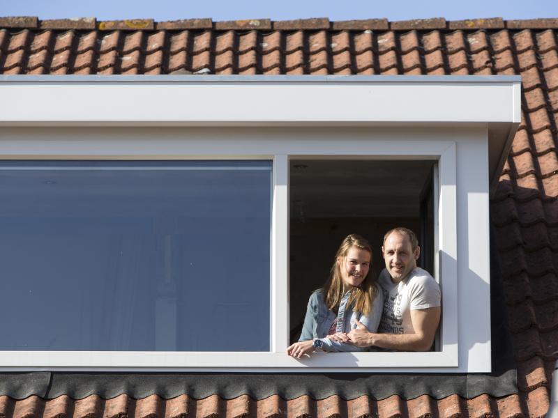 Kunststof dakkapel Leeuwarden